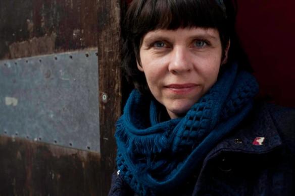 Birgitta Jónsdóttir, shot at the Yippie cafe, New York city. 4